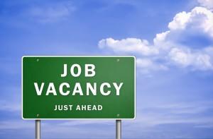 Job Vacancy Just Ahead