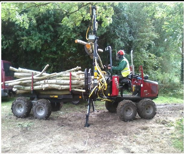 Mini forwarder in action