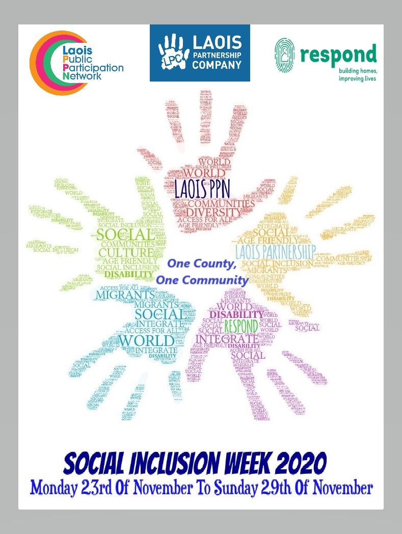 Social Inclusion Week 2020 Flyer